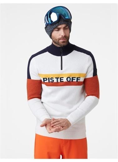 Helly Hansen Hh Trıcolore Knıtted Sweater Beyaz